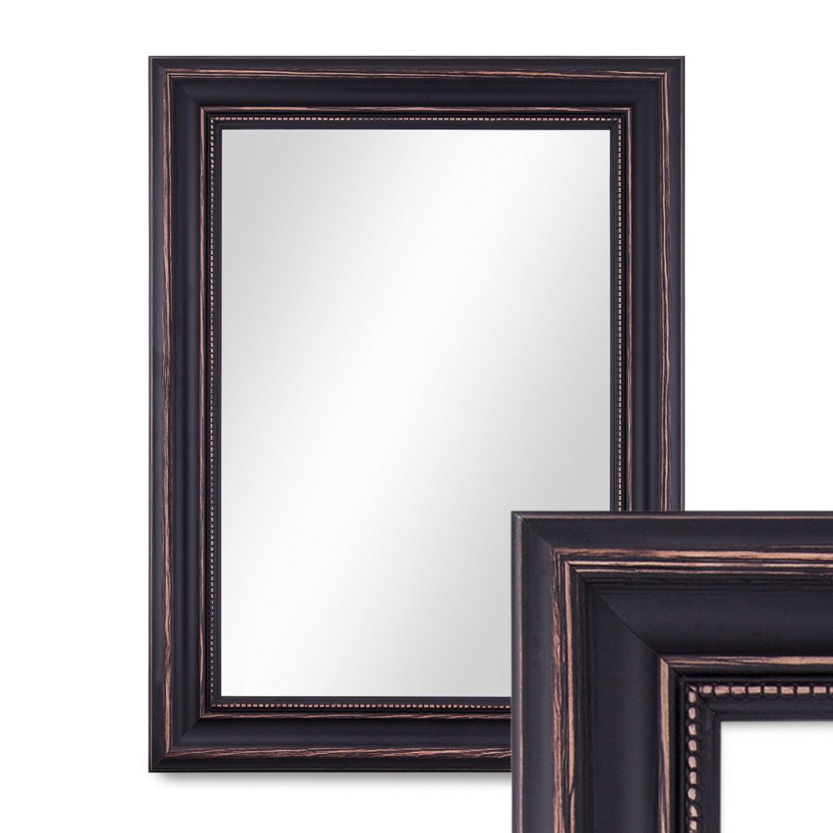 spiegel landhaus barock breit vintage holz gold silber. Black Bedroom Furniture Sets. Home Design Ideas