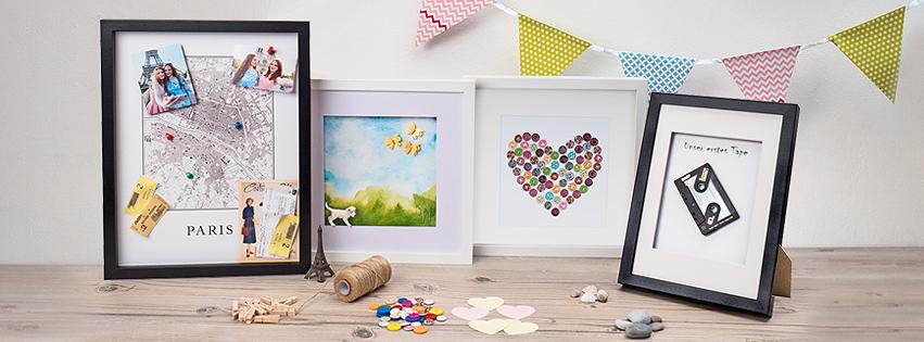 Häufig Bilderrahmen für Gegenstände | Zur Deko und als Geschenk | PHOTOLINI LU73