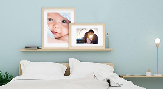 Deine Wandgestaltung im Schlafzimmer von PHOTOLINI
