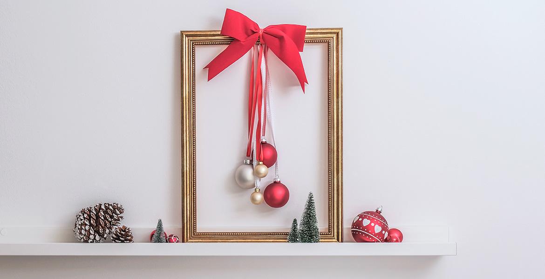 Deko Mit Christbaumkugeln.Mit Christbaumkugeln Weihnachtsdeko Basteln