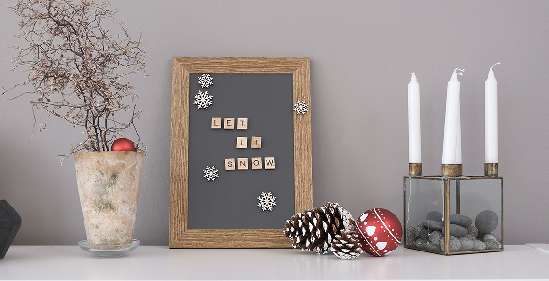 Diy Weihnachtsdeko Mit Holz Schneeflocken Basteln